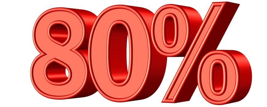 Hipoteca 80%